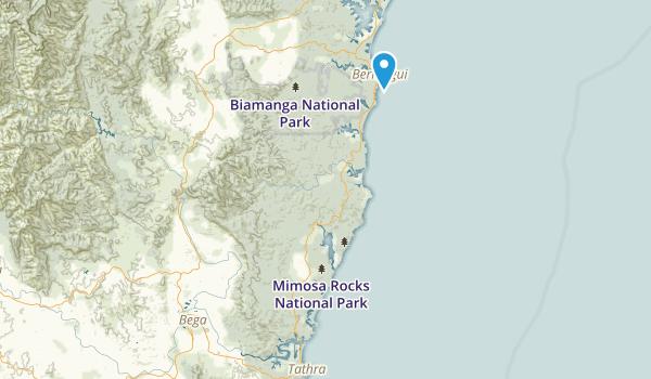 Mimosa Rocks National Park Map
