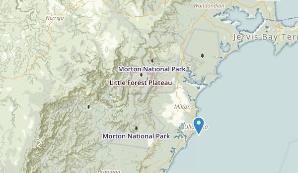 Morton National Park Map