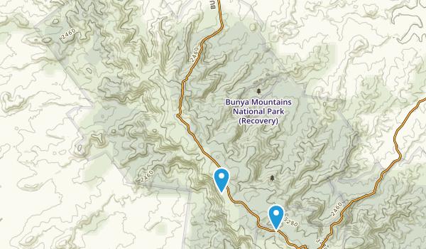 Bunya Mountains National Park Map