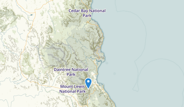 Daintree National Park Map