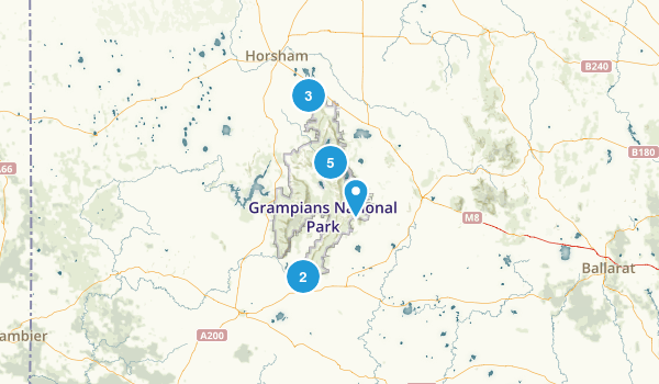 Grampians National Park Map