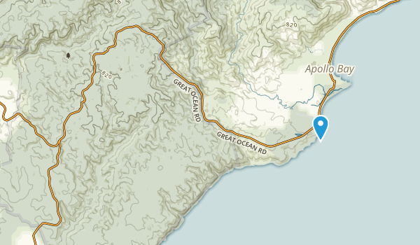 Great Otway National Park Map