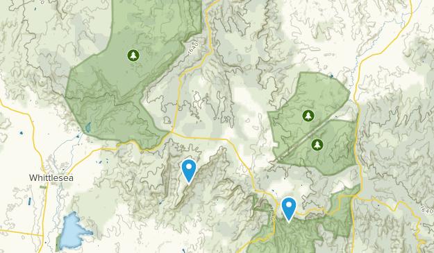 Kinglake National Park Map