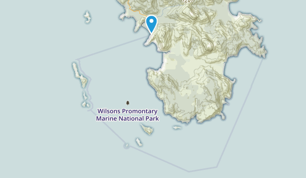 Wilsons Promontory Marine National Park Map