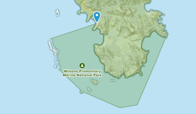 Wilsons Promontory Marine National Park Map