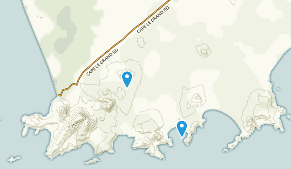 Cape Le Grand National Park Map