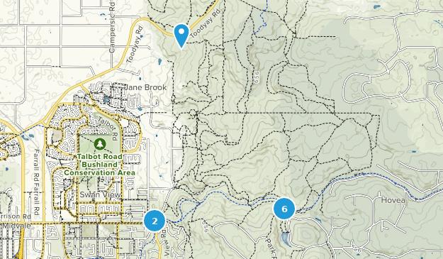 Christmas Hill Park Map.Best Trails In John Forrest National Park Western