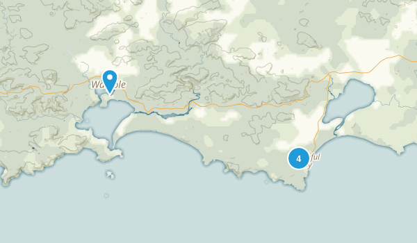 Walpole-Nornalup National Park Map