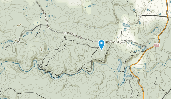 Warren National Park Map