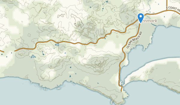 William Bay National Park Map