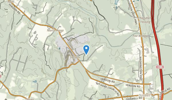 North Anna Battlefield Park Map