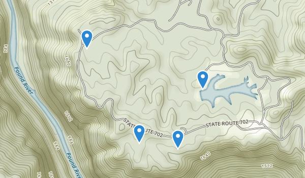 Breaks Interstate Park Map