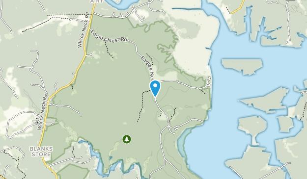 Chickahominy Wildlife Management Area Map