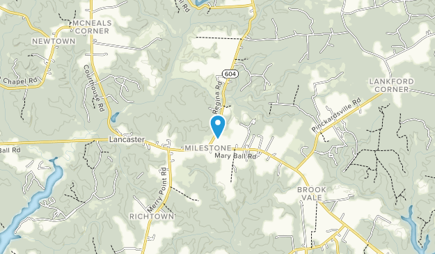 Hickory Hollow Natural Area Preserve Map