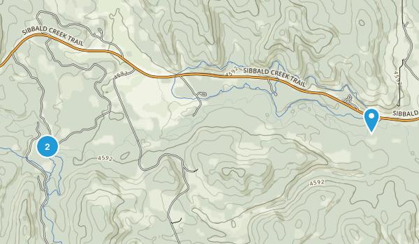 Jumpingpound Creek Provincial Recreation Area Map
