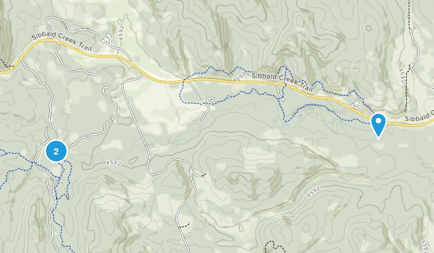 Jumpingpound Creek Provincial Recreation Area Map