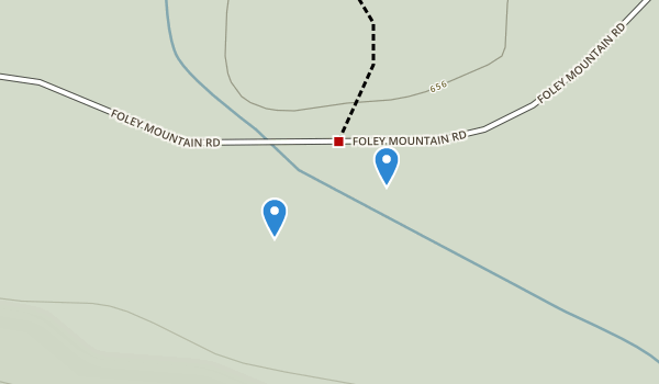 Foley Mountain Conservation Area Map
