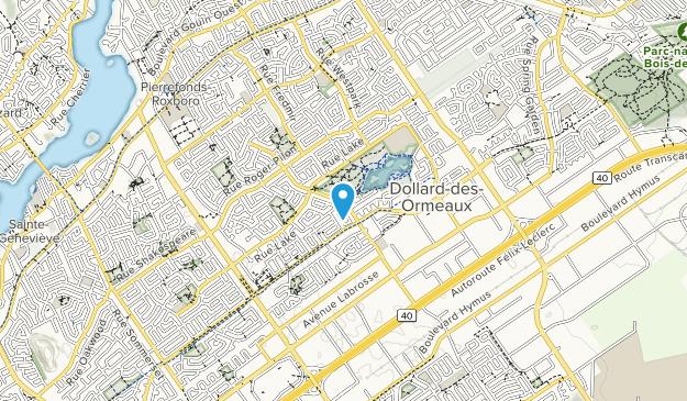 Parc du Centenaire Map