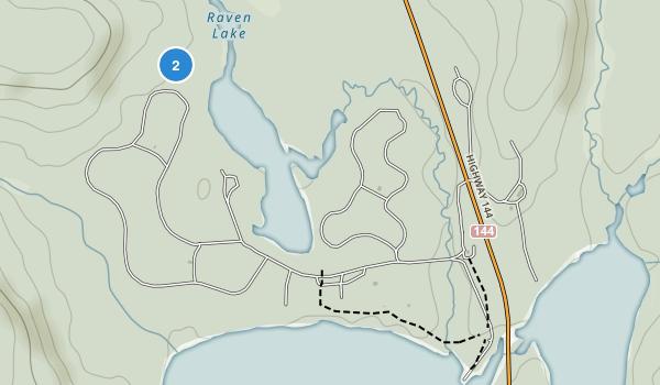 Halfway Lake Provincial Park Map