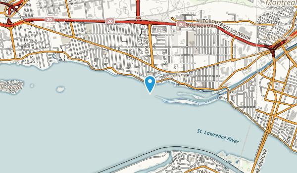 Parc Saint-Louis Map