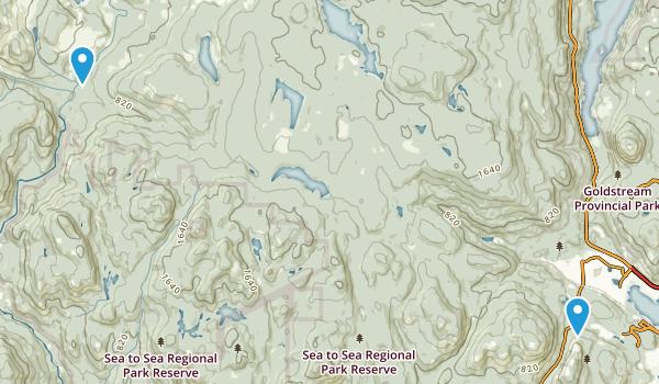 Sea to Sea Regional Park Map