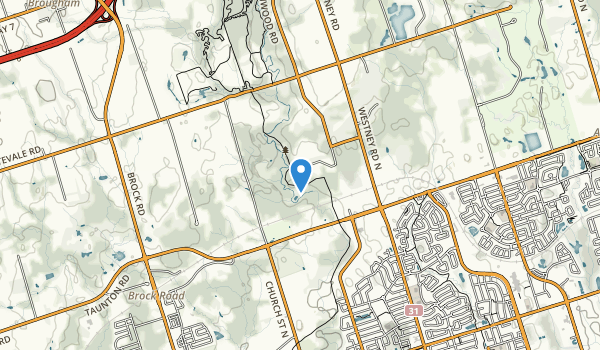 Greenwood Conservation Area Map