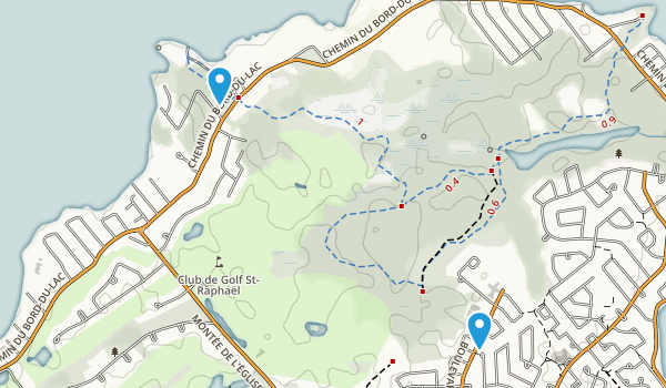 Parc-Nature du Bois-de-L'Ile-Blizard Map