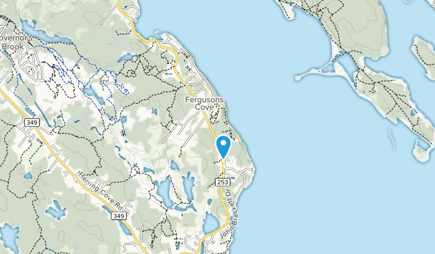 York Redoubt National Historic Site  Map
