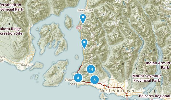 Cypress Provincial Park Map