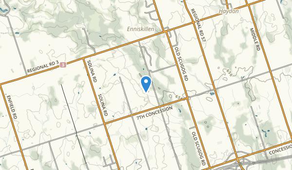 Enniskillen Conservation Area Map