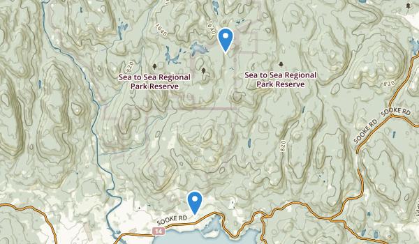 Smoke Mountain Provincial Park Map