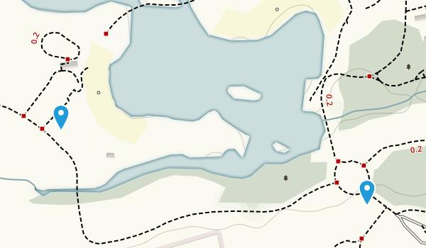 Earl Rowe Provincial Park Map