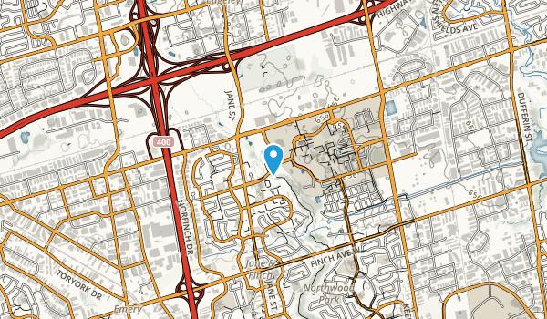 Black Creek Parkland Map
