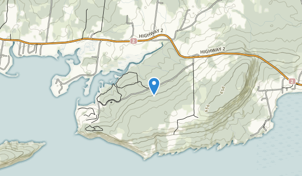 Five Islands Provincial Park Map