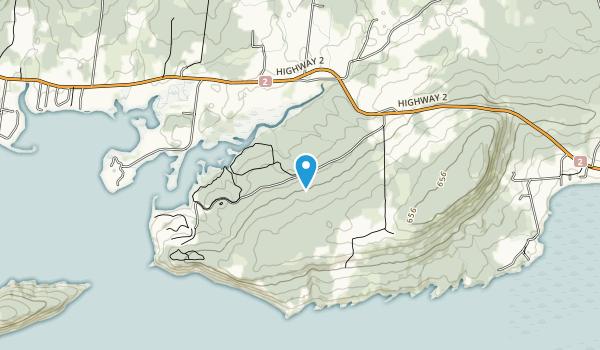 Five Islands Provincial Park Map