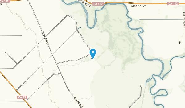 San Joaquin River National Wildlife Refuge Map