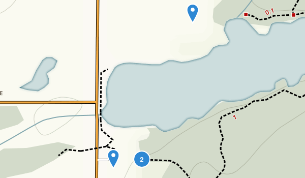 Springwater Conservation Area Map
