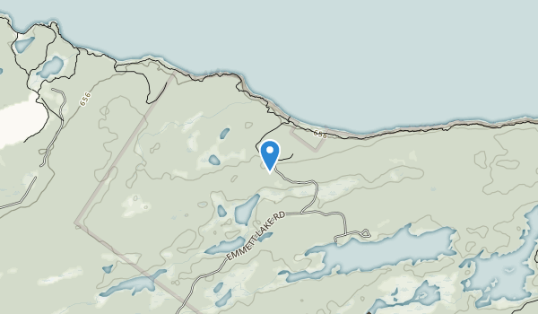 Cabot Head Provincial Nature Reserve Map