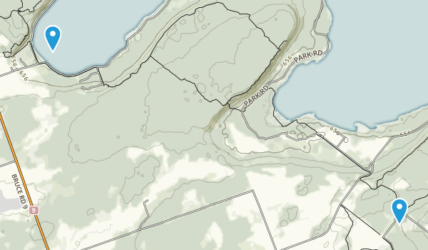 Hope Bay Forest Provincial Nature Reserve Map
