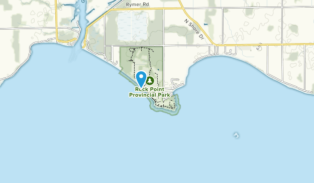 Rock Point Provincial Park Map