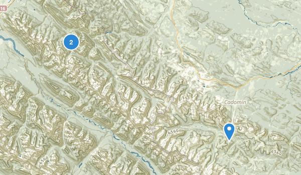 Whitehorse Wildland Provincial Park Map