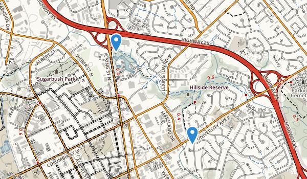 Hillside Park Map