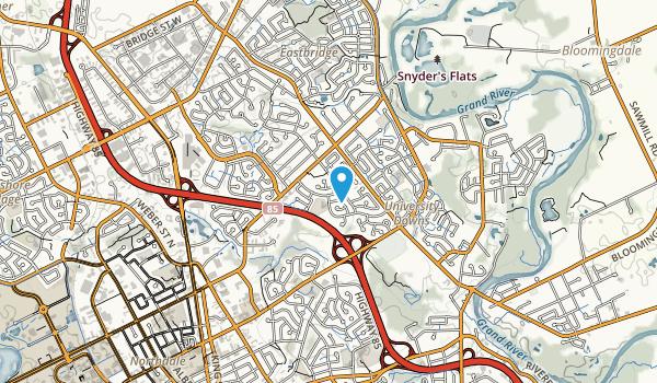 Dunvegan Park Map