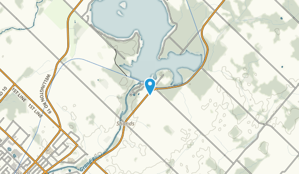 Belwood Lake Conservation Area Map