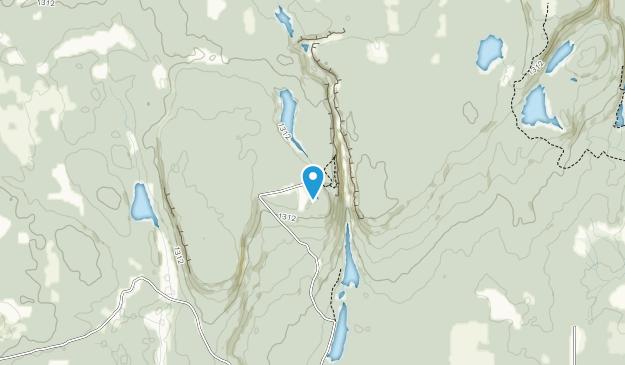 Ouimet Canyon Provincial Nature Reserve Park Map