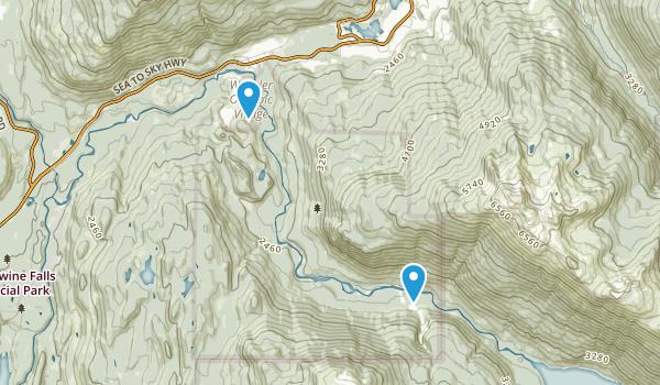 Whistler Interpretive Forest Map