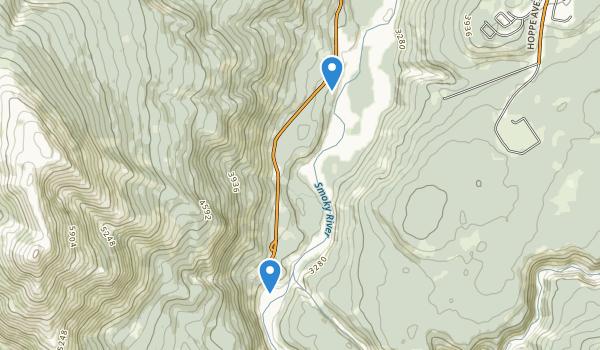 Sulphur Gates Provincial Recreation Area Map
