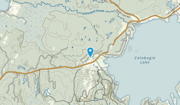 Constant Creek Swamp and Fen Conservation Reserve Map