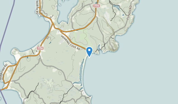 Herring Cove Provincial Park Map