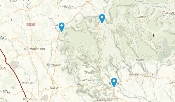 North York Moors National Park Map